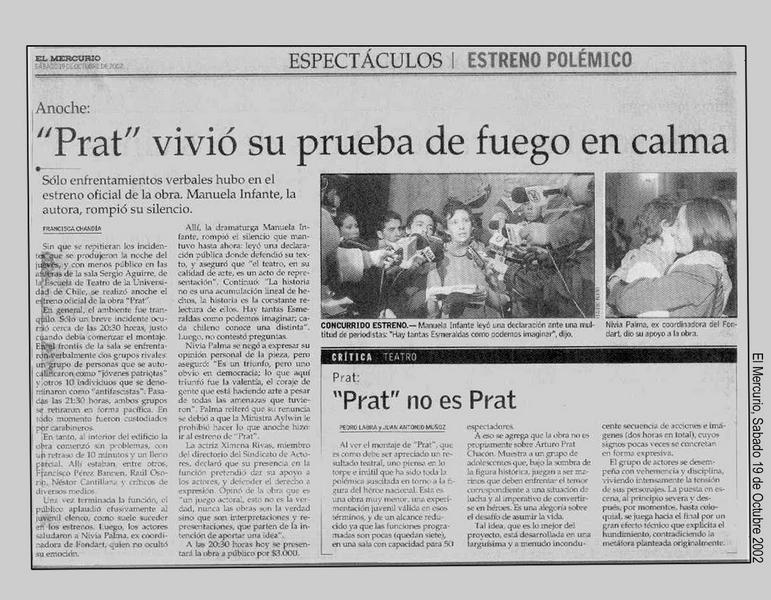 El Mercurio - 19/10/2002
