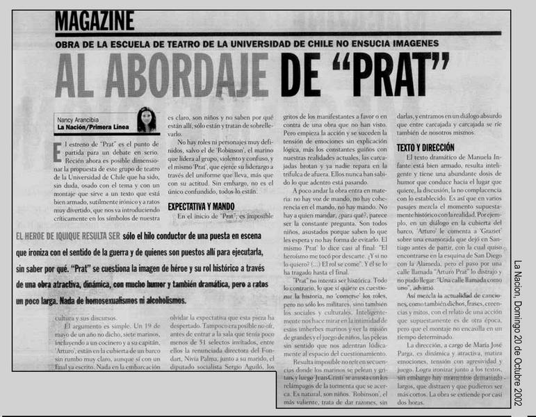 La Nación - 20/10/2002